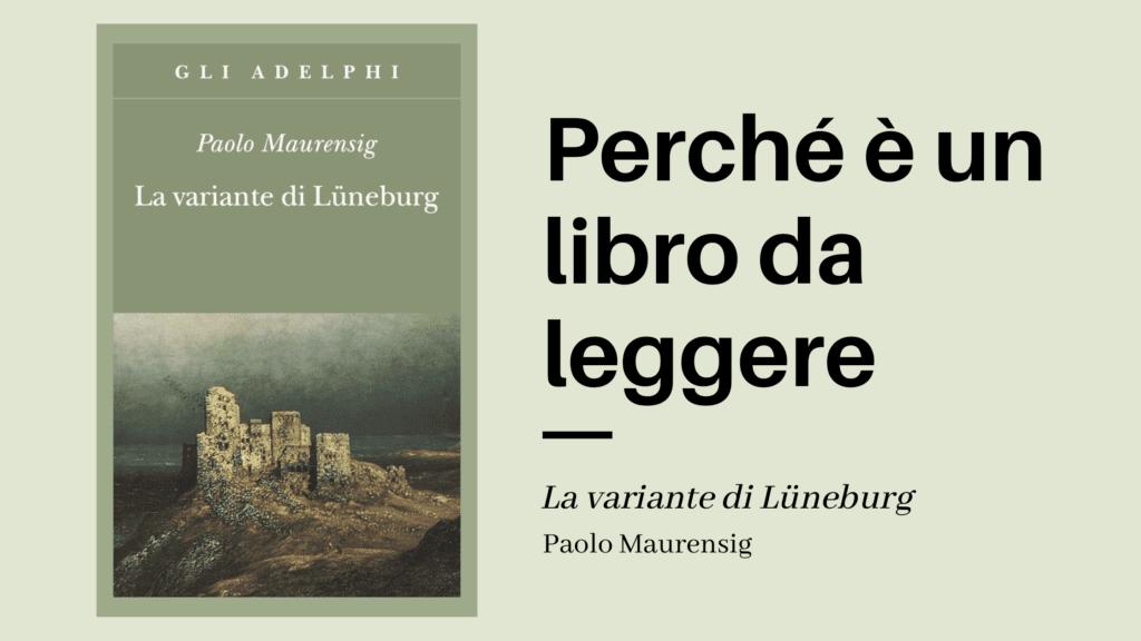Paolo Mauernsig, La variante di luneburg